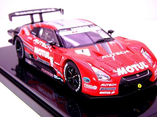 EBBRO MOTUL AUTECH GT-R SUPER GT 5002009 RD. 3 FUJI WINNER (4)