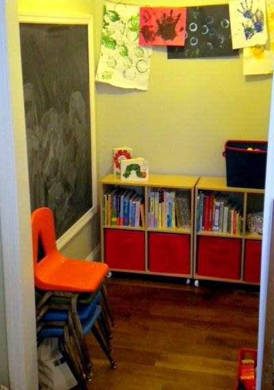 Closet playroom