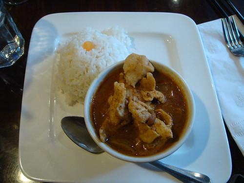 Thailand Cafe - Massamun Curry