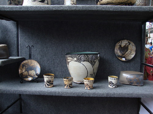 Christopher Baumann Ceramics, Four Bridges Art Festival, Chattanooga TN