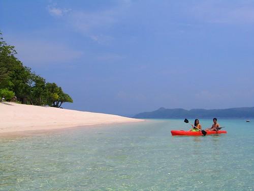 Kayaking in Club Paradise
