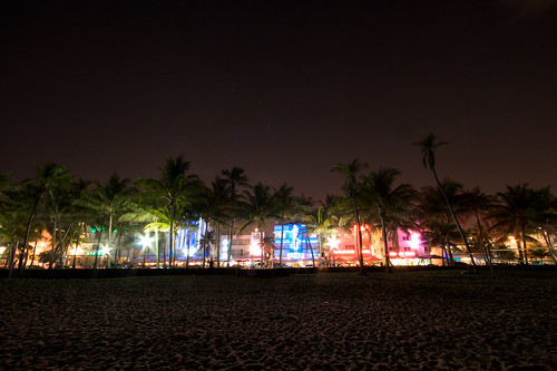 Ocean Drive By Night