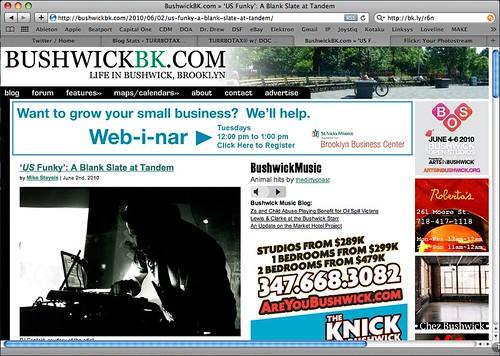 Contakt + Mayster Blank BushwickBK.com Blog Brooklyn Funky UK Funky US Funky