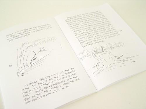 """Páginas do livro """"Bôri Pôpo"""""""