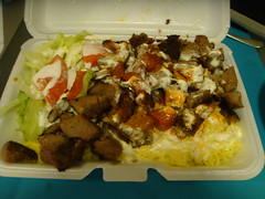 Halal - Lamb over Rice