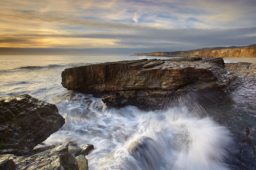 Test of Time, Hole in the Wall Beach, Davenport, California