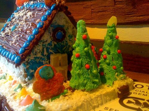 Gingerbread House at Backwater Angler