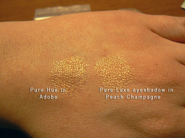Pure Luxe/Pure Hue comparison