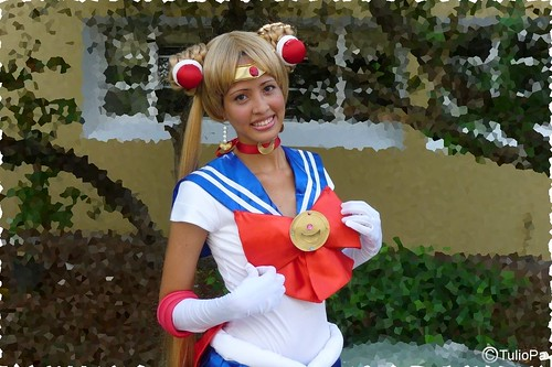 Koneko-tan Cosplay Sailor Moon