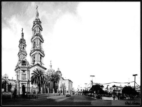Panoramica Parroquia San Francisco, Tepatitlan Jalisco Mexico