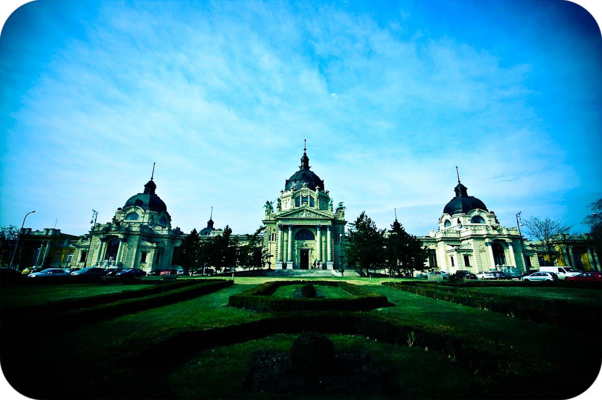 Széchenyi Baths, front facade