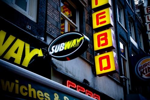 Subway addict ...
