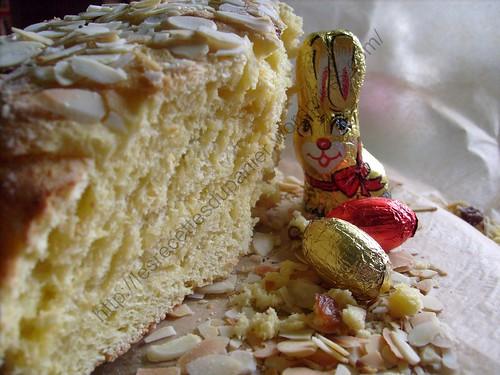 Brioche russe de Pâques / Russian Easter brioche / Koulich