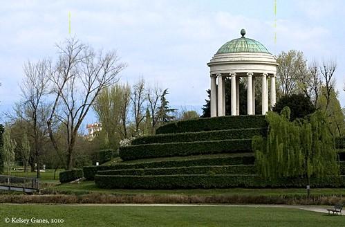 Querini park, Tempietto, Vicenza, Veneto, Italy, Italia, architecture, park