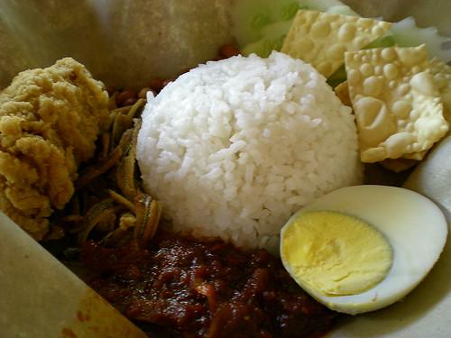 Old Town nasi lemak special