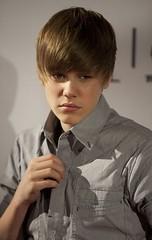 Justin Bieber On set