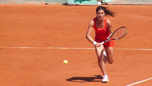 Sorana Cirstea - 1er tour de Roland Garros 2010 - tennis french open