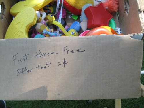 First three free