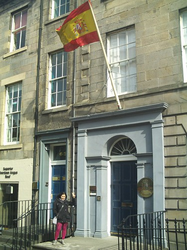 20090919 Edinburgh 15 N Castle St. 05 Spanish Consulate 02