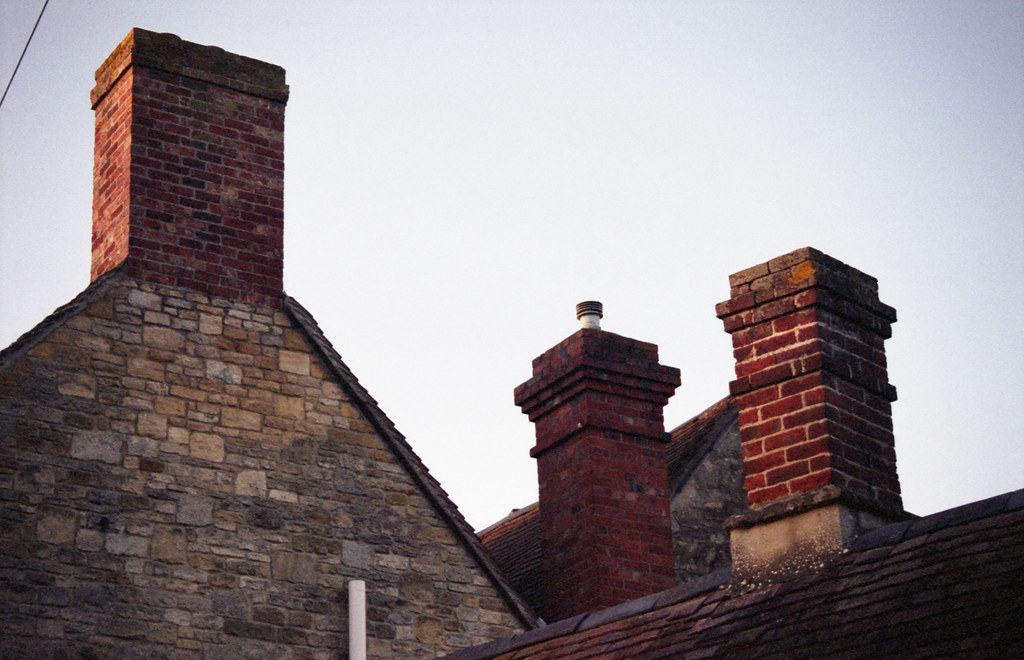 Old Headington chimneys