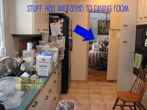 Raided pantry