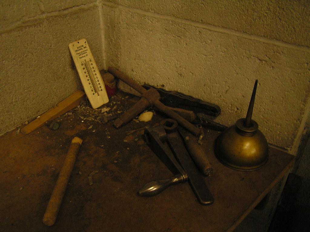 Tools, Pipe Shop, Austin Organs
