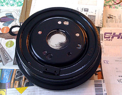 Drum Brake - Painted Black