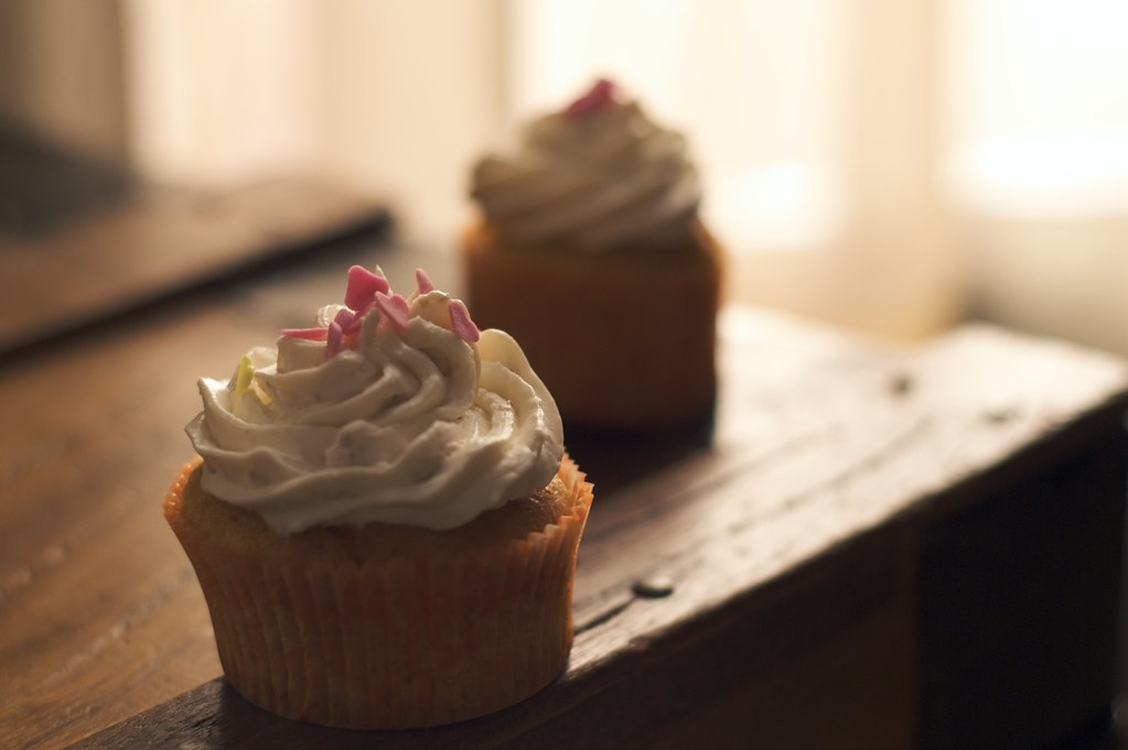 cupcakes de naranja, orange cupcake