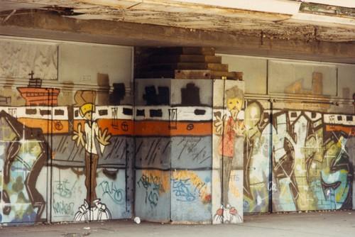 Paramount Theatre Entrance 1984