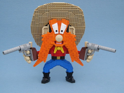 Lego Looney Tunes Cartoons Yosemite Sam
