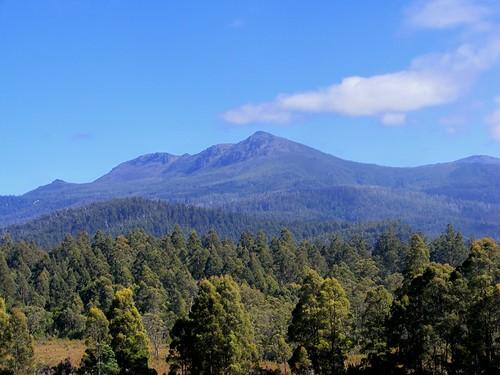Beautiful Mt. Fields, Tasmania