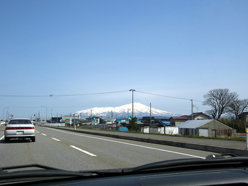 On our way to Sakata 酒田