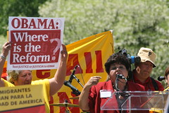 Immigration Reform Leaders Arrested in Washing...
