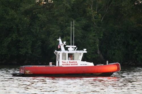 Alexandria to Georgetown - Potomac Marine Tugboat
