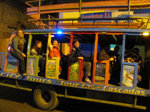 Partybus to the volcano
