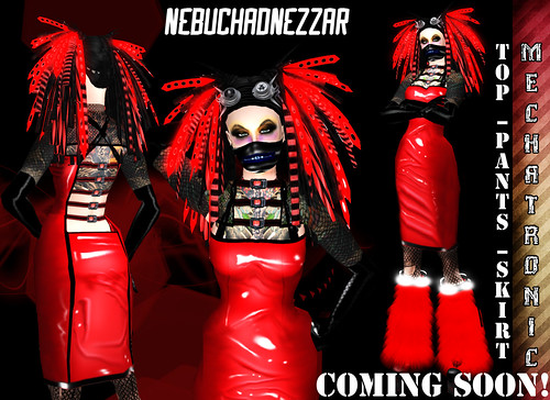 Coming soon: Mechatronic Cybergoth Outfit