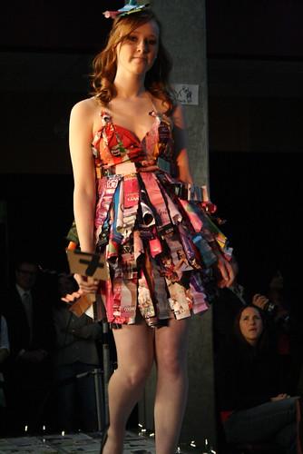 garbage fashion show