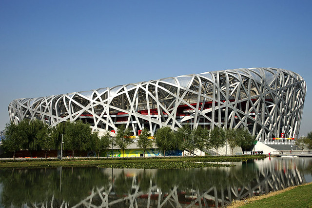 The Bird's Nest, Beijing - Image by rudenoon on Flickr
