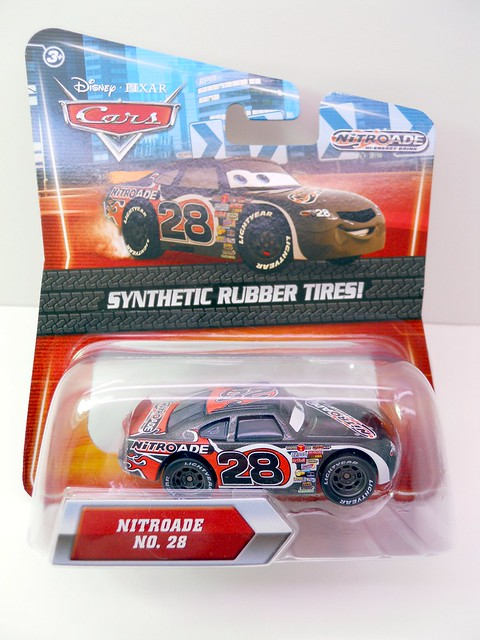 DISNEY CARS KMART COLLECTOR DAY 5  NITROADE RACER (1)