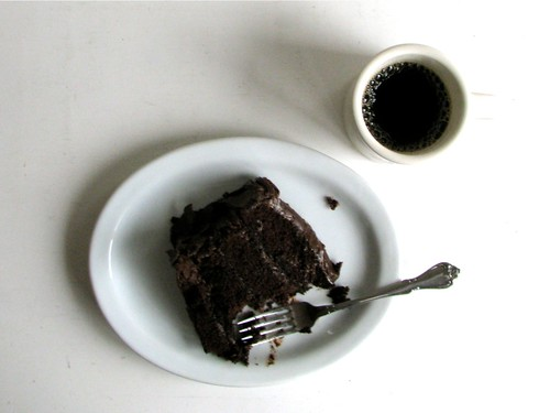 chocolate cake breakfast