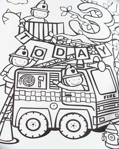 Birthday Coloring Page from Janey