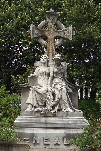 Neal Monument, Oakland Cemetery, Atlanta GA