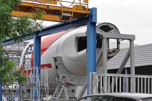 EK407 Tail Stike - A6-ERG A340-541 MSN 608 Emirates