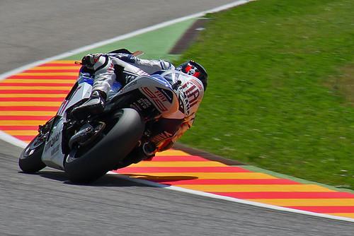 Jorge Lorenzo during the race at Mugello