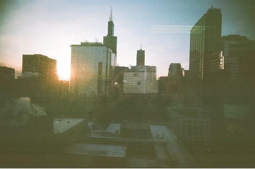 office sunset
