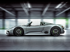 2010 Porsche 918 Spyder Concept