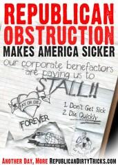 Republican Obstruction Makes America Sicker Image