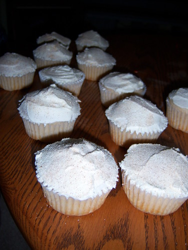 Snickerdoodle Cupcakes