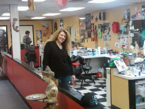 Her clients welcomed Peg and her business with open arms. Peg Stroud, Tattoo