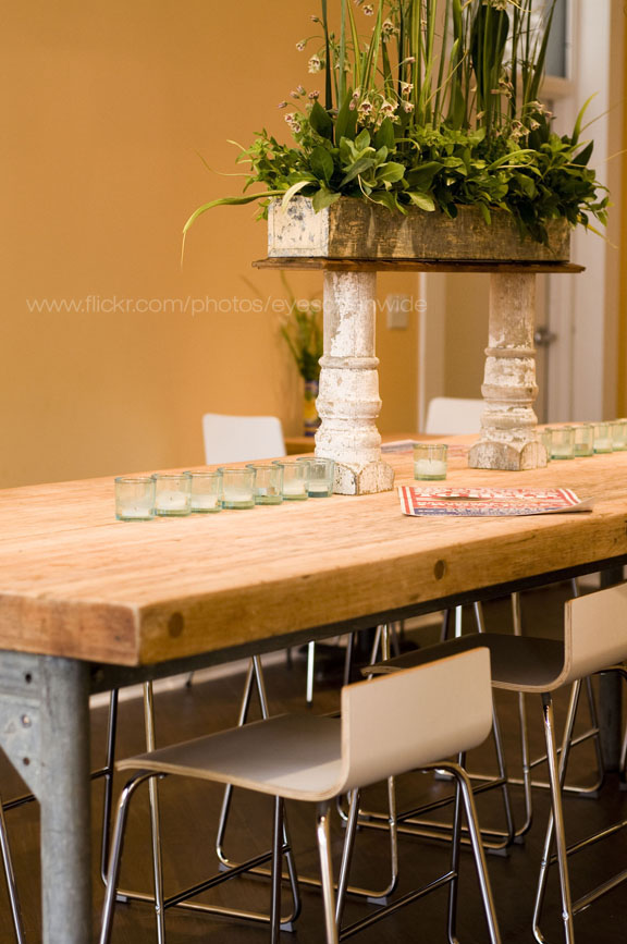 really cool communal table
